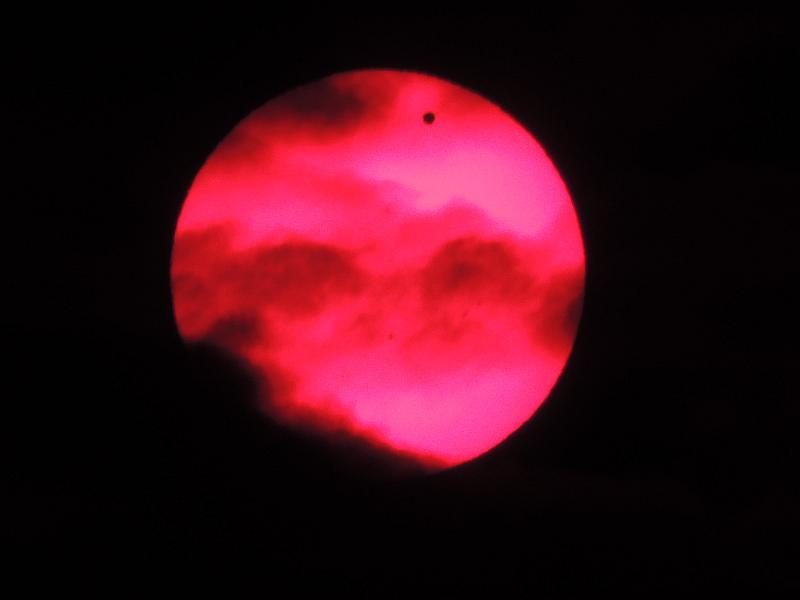 SOLAR eclipse of VENUS 06.06.2012 with  NIKON P510 Vs15